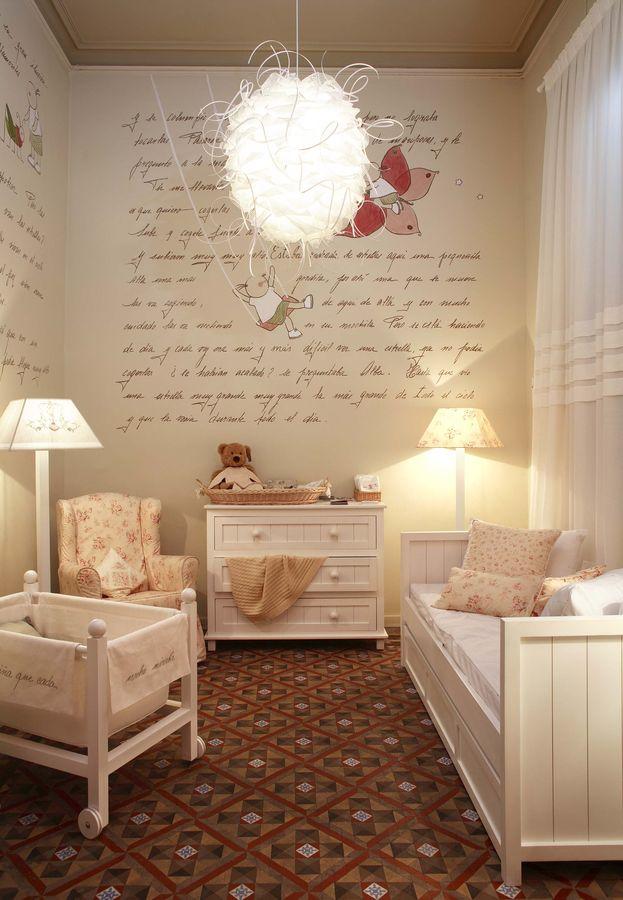 Lampara habitacion bebe original decoracion dormitorio - Habitacion bebe original ...