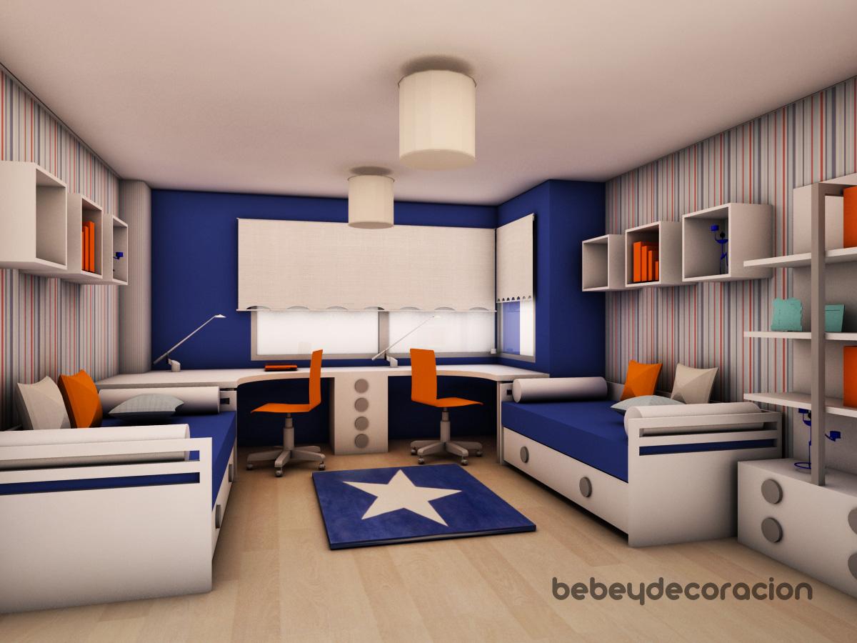 Proyecto de decoracion juvenil una habitaci n juvenil - Decoracion habitacion juvenil ...