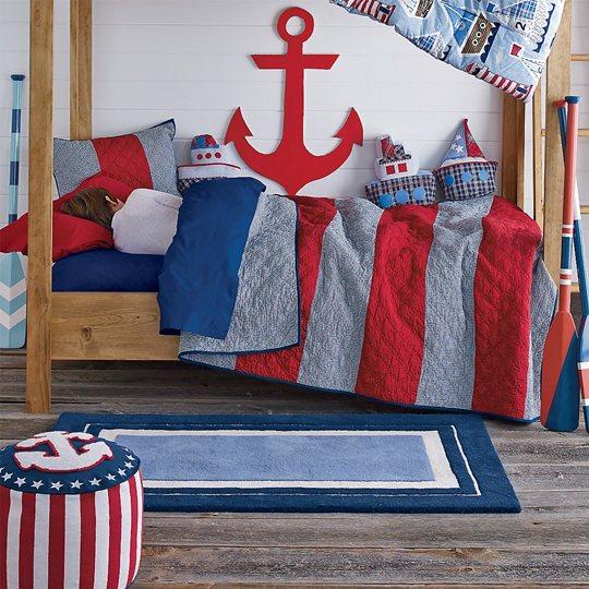 El estilo marinero en decoracion infantil bebeydecoracion - Muebles estilo marinero ...